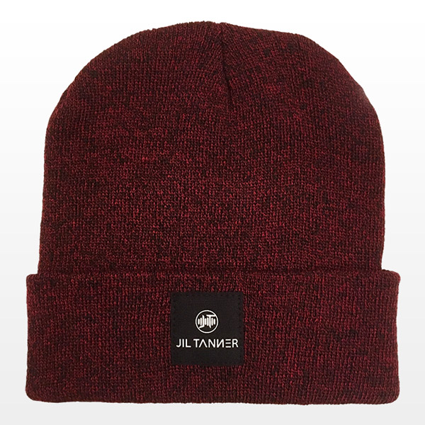 Jil Tanner beanie dark red